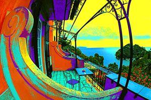 "Hotel Splendido - Jane Gottlieb ""Dreamscapes"""