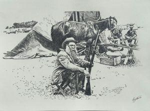 South African Boer War Camp