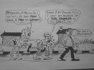 Rib cracker cartoon