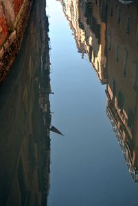 Reflection on the Venice Canals