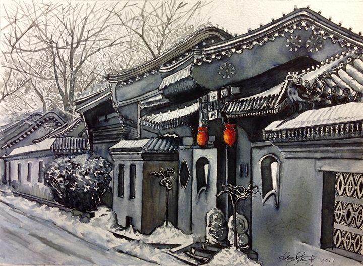 Snow scene - Xin Zhang