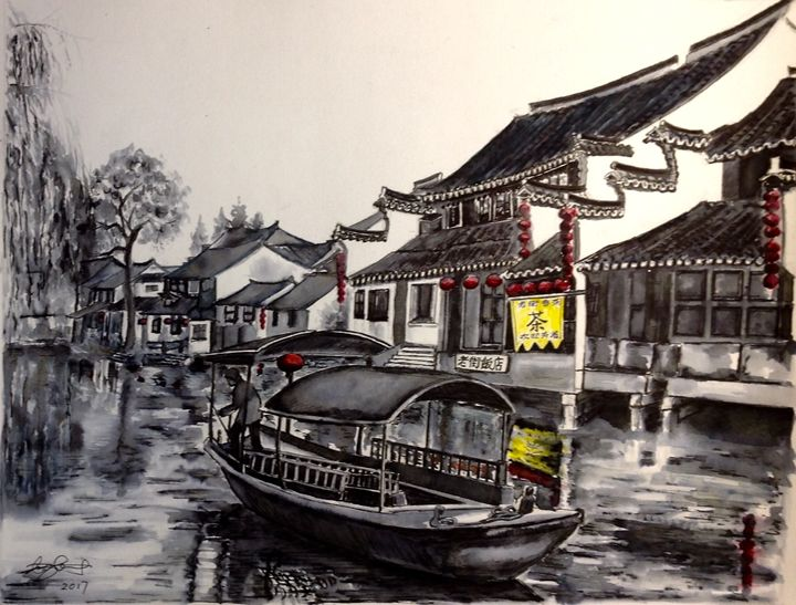 Water Village - Xin Zhang