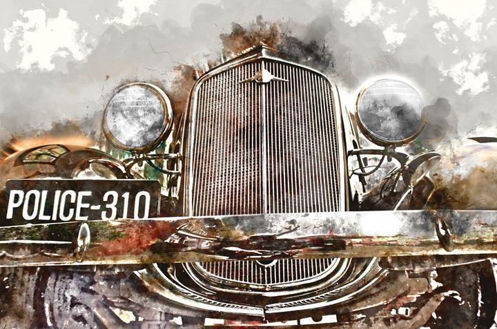 vintage car - Tallefarro