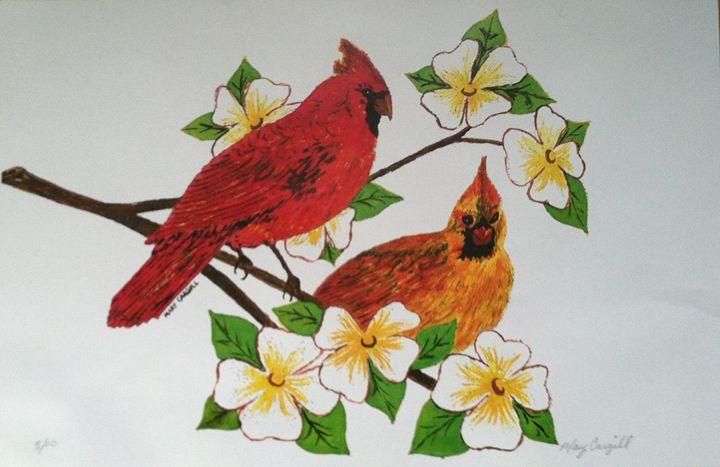 Cardinals - Mary Cargill