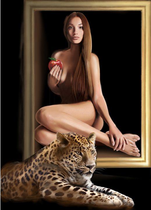 femme leopard - itsgoude