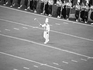 LSU Drum major