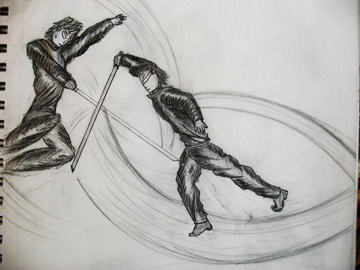 dynamic battle - Tony Friedman