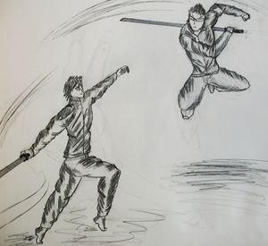 Takeo Vs. Swordsman