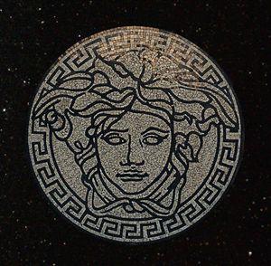 Medusa Gorgon Head Medallion