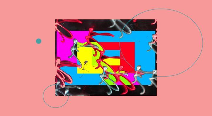 Lights and abstraction - Yekuno's art work