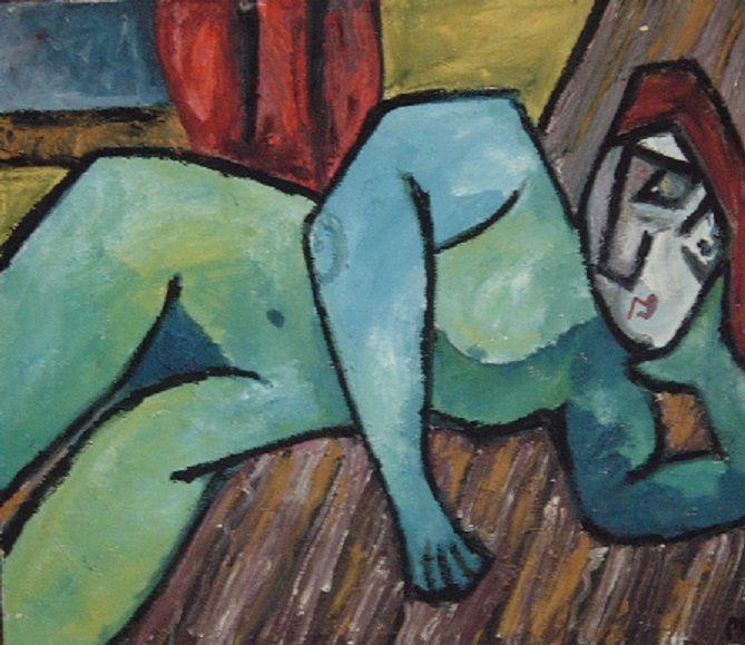 reclining figure - Paul Nowacki
