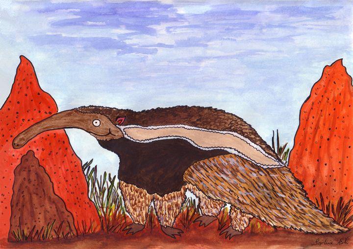 Anteater - Sophie's Menagerie