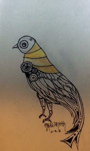 Steam punk dove