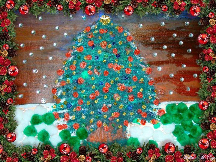 Christmas Tree - Artist Melissa