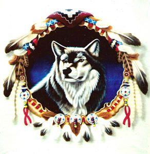 Wolf Wreath