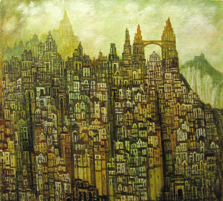 city dreamed - ivanovart
