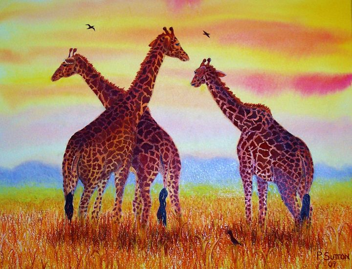AFRICAN AFTERNOON - PamSutton