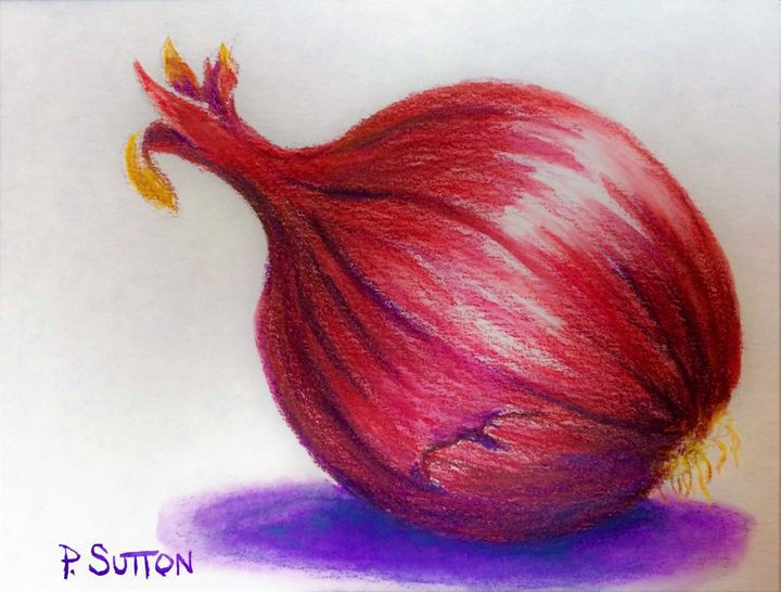 RED ONION - PamSutton