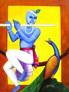 KRISHNA - THE FLUTE PLAYER
