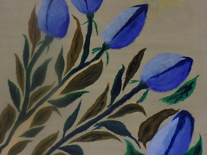 "Cheerful 2  Cheerful in Dutch ""tulip - RMar Art"