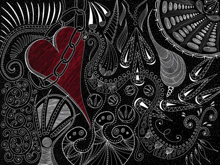 Slave to Love - Sherise Seven Art