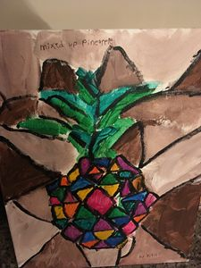 Mixed up pineapple