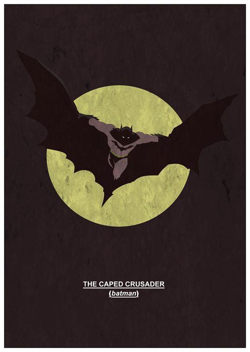 The Caped Crusader       #6 - MattBlank
