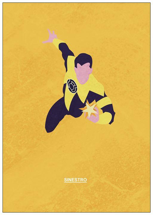Sinestro                    #1 - MattBlank