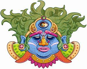 The third eye of Shiva