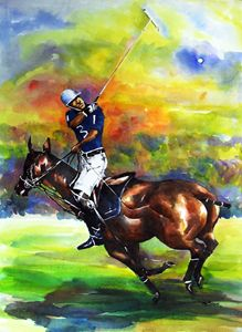 Polo player - INI BROWN