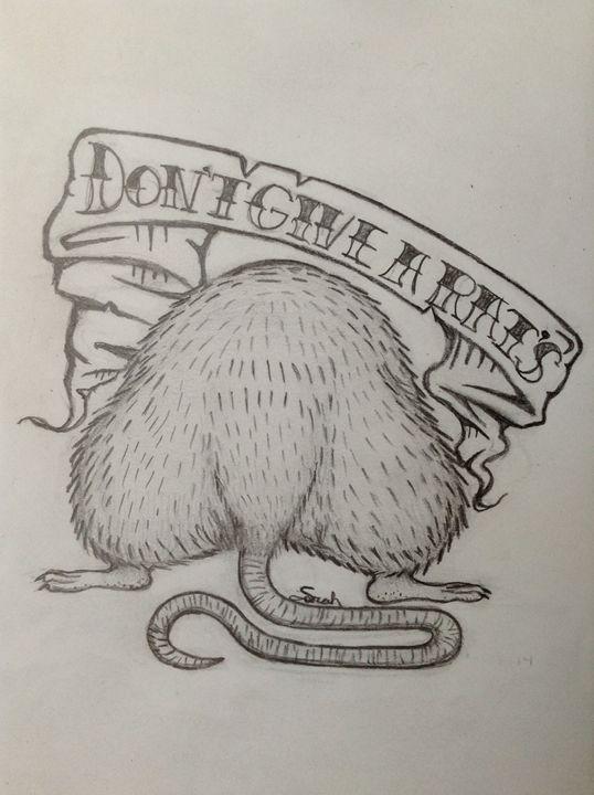 "Tattoo (Don't give a rat's.."" - Sarah Alfalla"