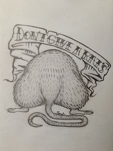 """Tattoo (Don't give a rat's.."""""""