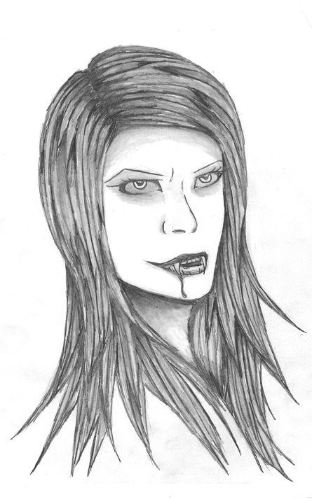 Tattoo (vampire girl) - Sarah Alfalla