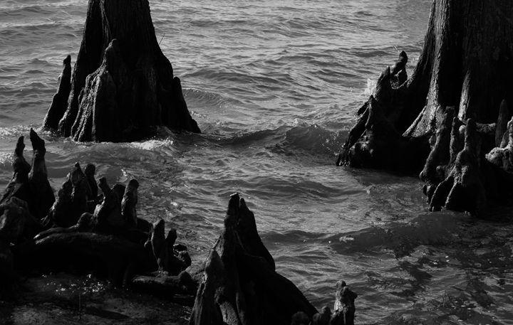 Eerie Grotto - Angela Ronk 24k FX Design