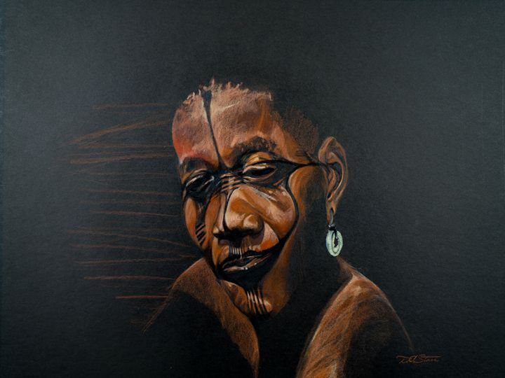 African Face - Donald Corpier Starr