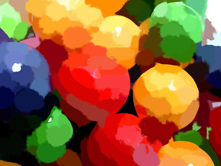 Chewing Balls - Paintings and prints