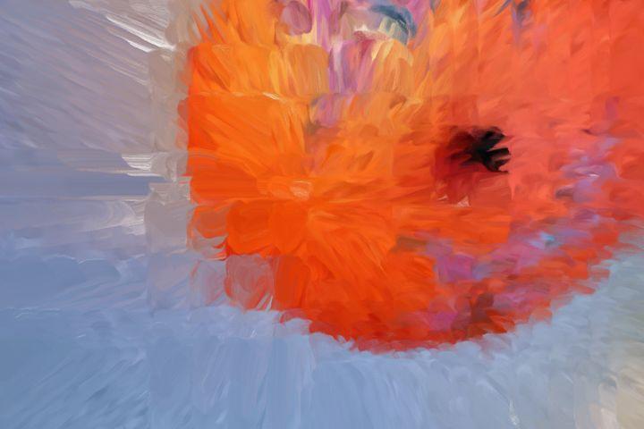 Big balloon - Paintings and prints