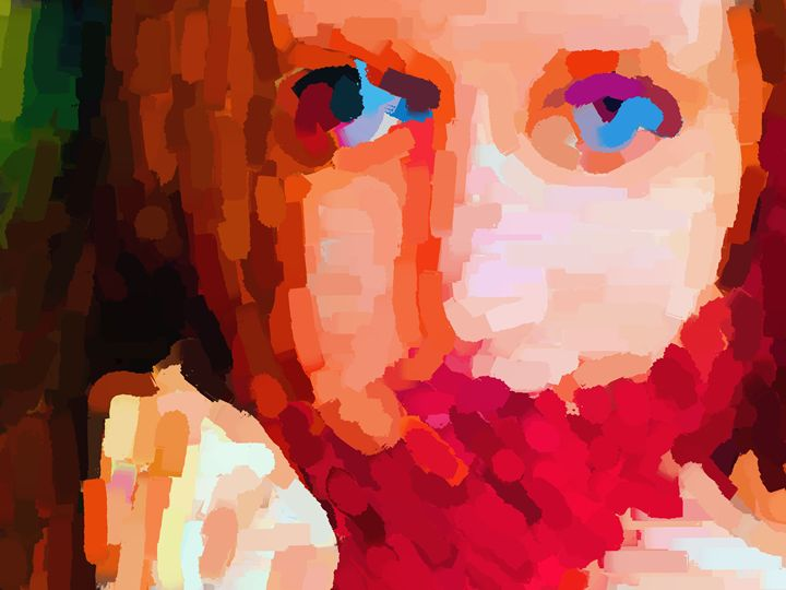 Blue eyes - Paintings and prints