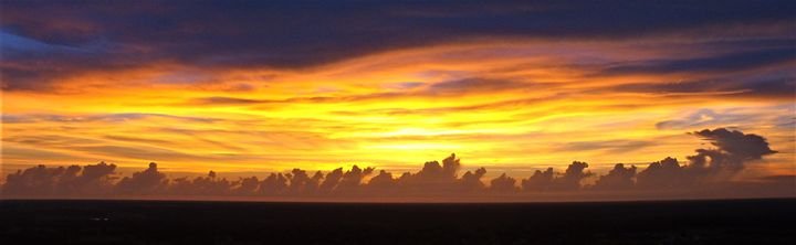 Fiery sunset - RedBone Country Creations