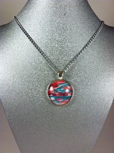 Picasso necklace : Boat in the Wind
