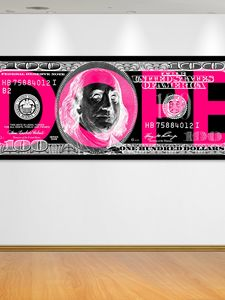 Life is Dope canvas by Fluorescent P