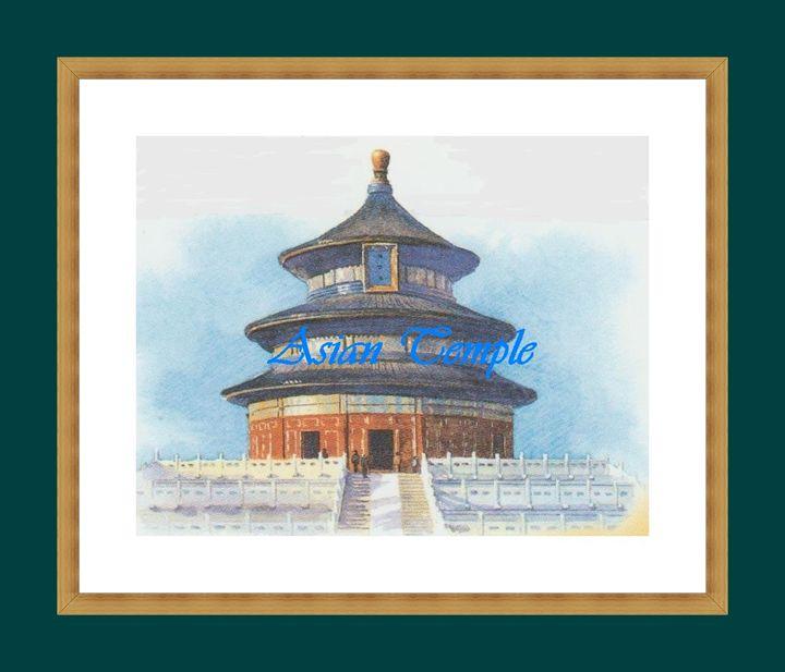 Asian Temple - Matrix Collection