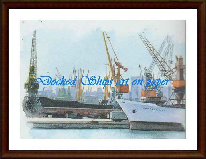 Docked Ships - Matrix Collection