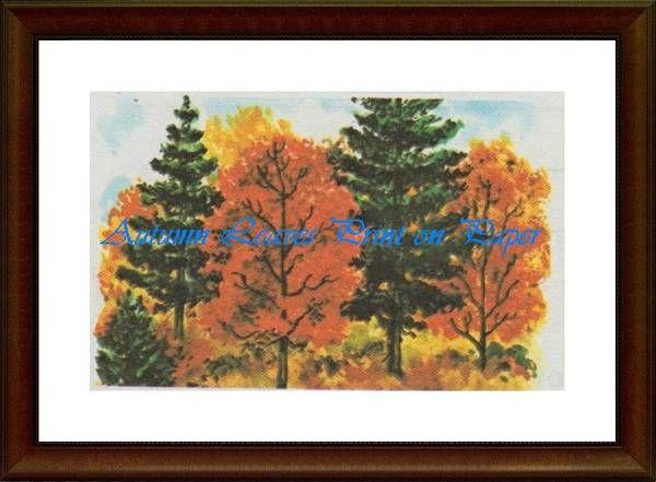 Autumn Leaves - Matrix Collection