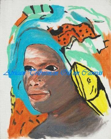 African Headdress - Matrix Collection