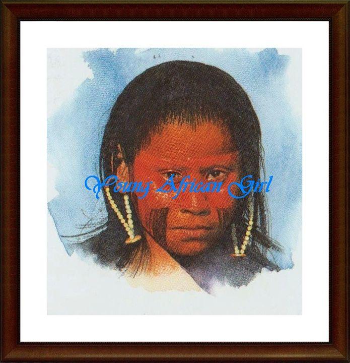African Girl - Matrix Collection