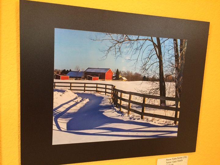 Wisconsin Winter Farm Scene - Impact Style Photography