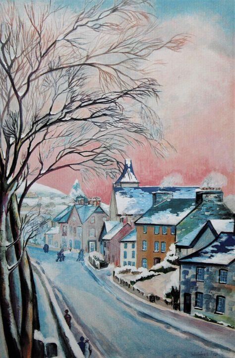 Winter in West ST. Winifred Francis - PowysArt