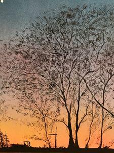 sunset on county rd U