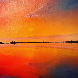 reflection on lake Narraguinnep
